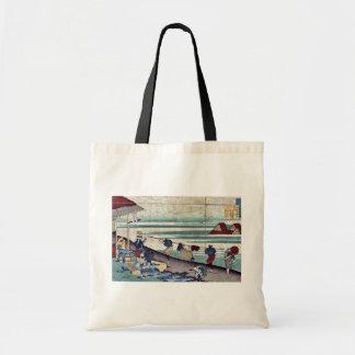 por Katsushika, Hokusai Ukiyo-e. Bolsas De Mano