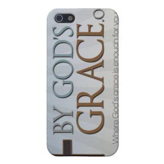 Por la colección de la tolerancia de dios iPhone 5 carcasas