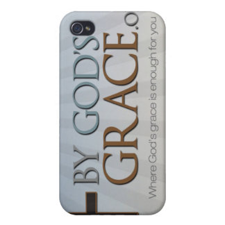Por la colección de la tolerancia de dios iPhone 4 funda