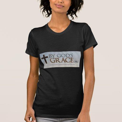 Por la colección de la tolerancia de dios camisetas