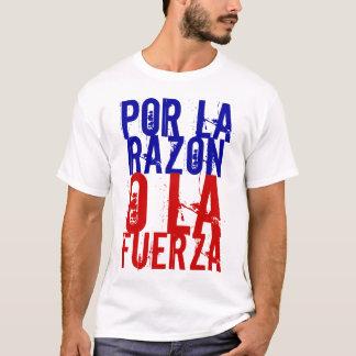 Por la Razón o la Fuerza Rebuild Chile T-Shirt