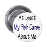 Por lo menos mis cuidados de los pescados sobre mí pins