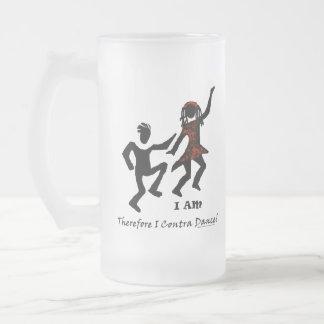 Por lo tanto yo contra danza taza de café