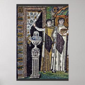 Por Meister Von San Vitale en Ravena (la mejor cal Impresiones