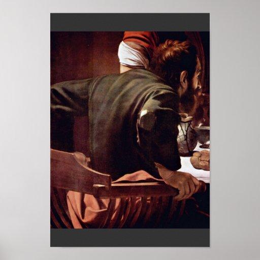 Por Miguel Ángel Merisi DA Caravaggio Poster