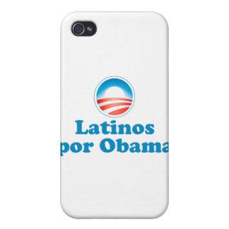 Por Obama de los Latinos iPhone 4 Protector