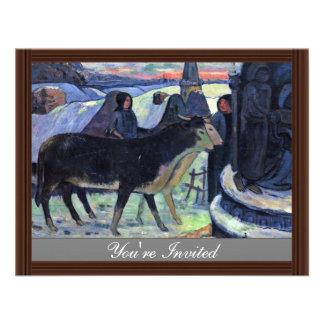 Por Paul Gauguin (la mejor calidad) Invitacion Personalizada