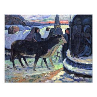 Por Paul Gauguin (la mejor calidad) Anuncio Personalizado