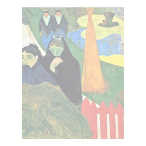 Por Paul Gauguin (la mejor calidad) Membrete