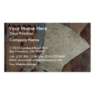 Por Piero della Francesca la mejor calidad Tarjeta Personal