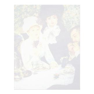 Por Pierre-Auguste Renoir (la mejor calidad) Membrete A Diseño