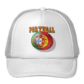 """Por Portugueses de las boleadoras de """"Portugal"""" Gorros Bordados"""
