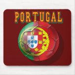 """Por Portugueses de las boleadoras de """"Portugal"""" Alfombrillas De Ratón"""