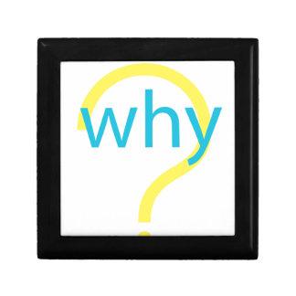 ¿Por qué? Caja De Recuerdo