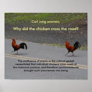 ¿Por qué el pollo cruzó? (pequeño) - poster