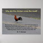 ¿Por qué el pollo cruzó? - poster