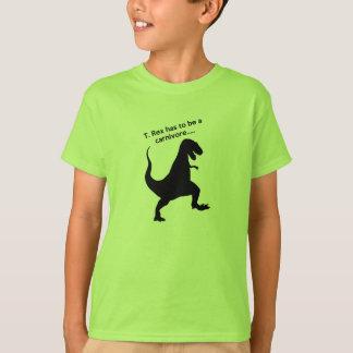 ¿Por qué es T. Rexes Carnivores? Playera