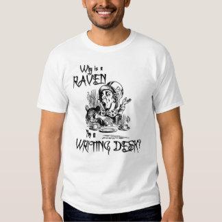 ¿Por qué es un cuervo como un escritorio? Camisas