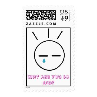 ¿Por qué está usted tan triste? [Kimi a la serie Sellos