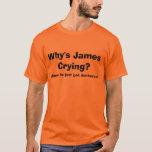 ¿Por qué griterío de James?  - CAMISETA