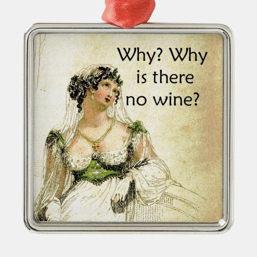 ¿Por qué hay ningún vino? Humor del vintage de Ack Adorno Para Reyes