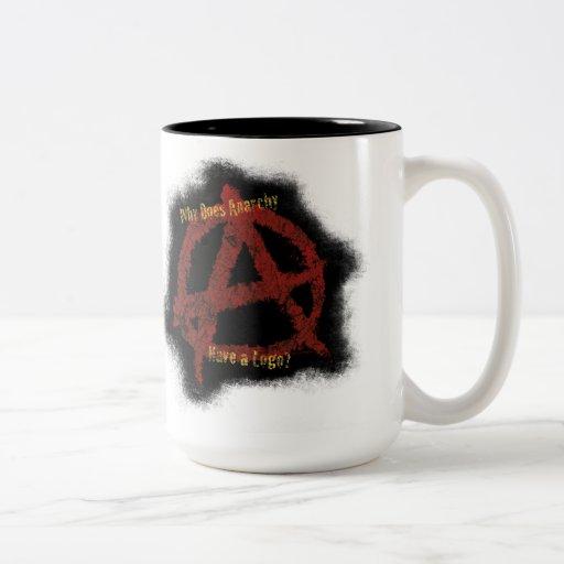 ¿Por qué la anarquía tiene un logotipo? Taza