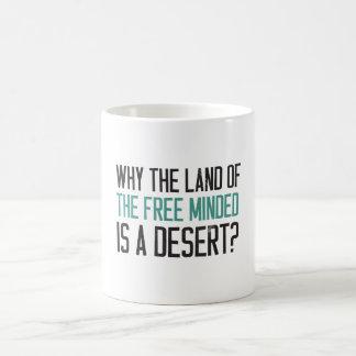 ¿Por qué la tierra del libre importado es un Taza Clásica