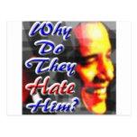 ¿Por qué lo odian? Tarjeta Postal