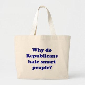 ¿Por qué los republicanos odian gente elegante? Bolsas