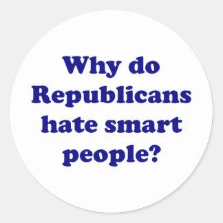 ¿Por qué los republicanos odian gente elegante? Etiqueta Redonda