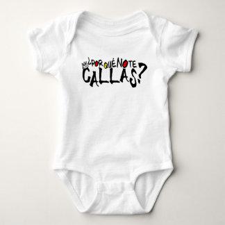 POR QUE NO TE CALLAS BABY ESPANA BABY BODYSUIT