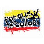 Por que No Te Callas Espana Rey Juan Carlos Postcard