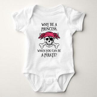 ¿Por qué sea una princesa, cuando usted puede ser Body Para Bebé
