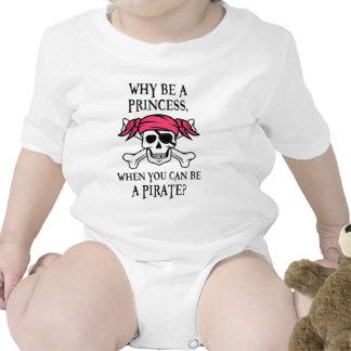 ¿Por qué sea una princesa, cuando usted puede ser Trajes De Bebé