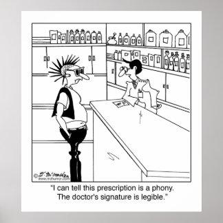 ¿Por qué Signature Legible del doctor? Póster