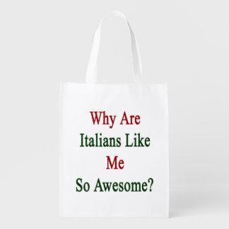 ¿Por qué son los italianos como mí tan Bolsa Para La Compra