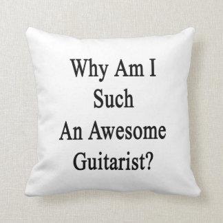 ¿Por qué soy un guitarrista tan impresionante? Cojines
