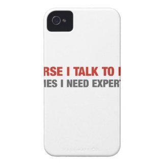 Por supuesto hablo conmigo mismo (el asesoramiento Case-Mate iPhone 4 coberturas