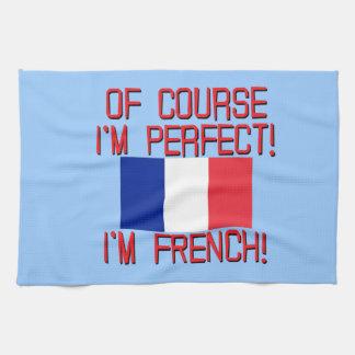 por supuesto im im perfecto FRENCH.png Toalla De Mano