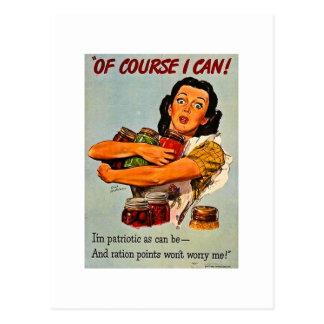 ¡Por supuesto puedo! Segunda Guerra Mundial del vi Postal
