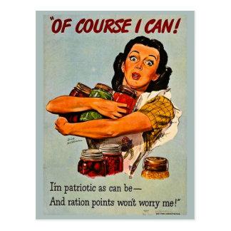 ¡Por supuesto puedo! Segunda Guerra Mundial retra Postal