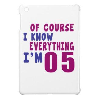 Por supuesto sé que todo soy 5