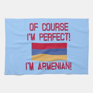 ¡Por supuesto soy perfecto, yo soy armenio! Toallas De Cocina