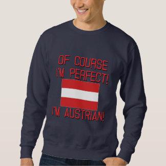 ¡Por supuesto soy perfecto, yo soy austríaco! Suéter