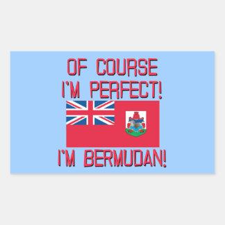 ¡Por supuesto soy perfecto yo soy bermude6no