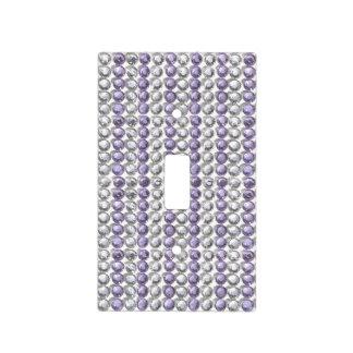 Por todo los diamantes artificiales de color de placa para interruptor
