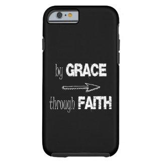 Por verso de la biblia de la tolerancia funda resistente iPhone 6