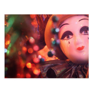 Porcelain Clown Custom Postcard
