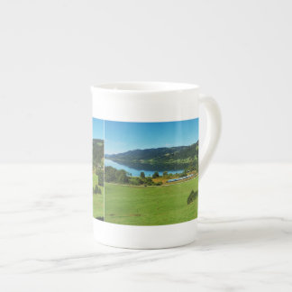 Porcelain cup of large Alpsee