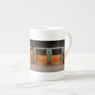 Porcelain cup of old Elbe tunnels